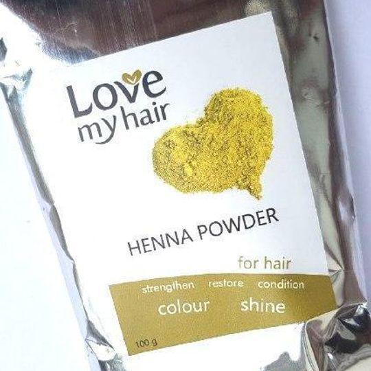 Love My Hair Henna Powder
