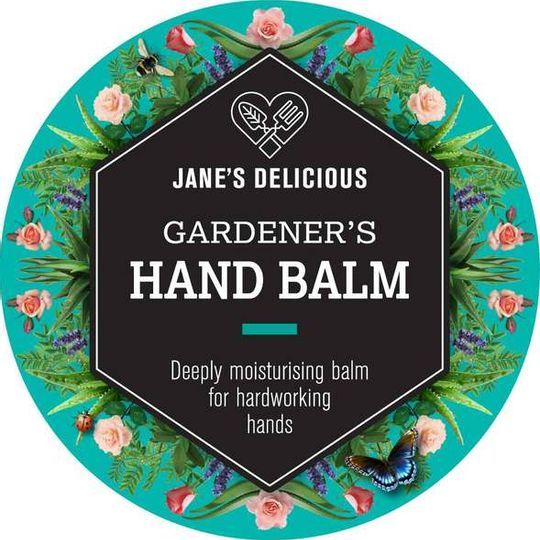 Jane's Delicious Gardener's Hand Balm 50g
