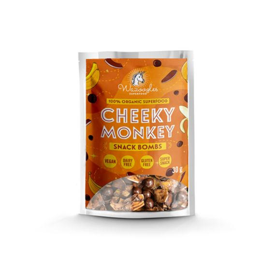 Wazoogles Superfood Snack Bombs - Cheeky Monkey 30g