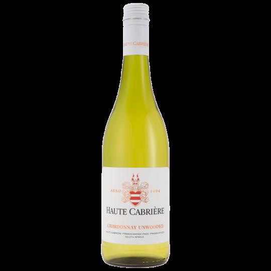 Haute Cabrière Chardonnay Unwooded 2020 Case 6