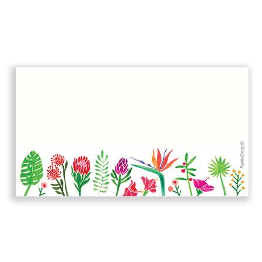 10 Little Letters - Flower border landscape
