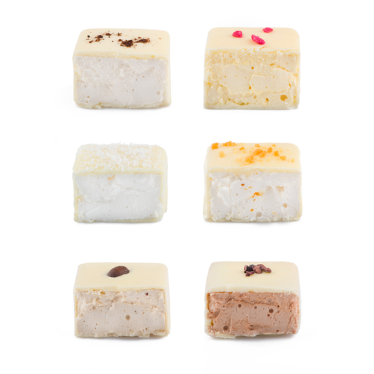 Artisan Marshmallows in White Chocolate 6pc