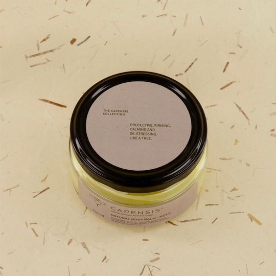 Beeswax Body Balm - Hout