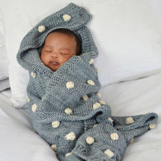 Bobble blankets – Eco Cotton – Baby
