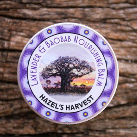Lavender and Baobab Nourishing Balm (50ml Tin)