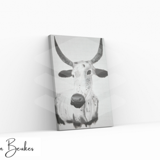 Black and White Nguni | Original Prints on Canvas