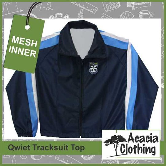 Sublimated Tracksuit Top - Mesh Inner