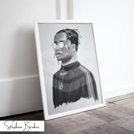 Man with Glasses | Original Prints on Fine Art Paper