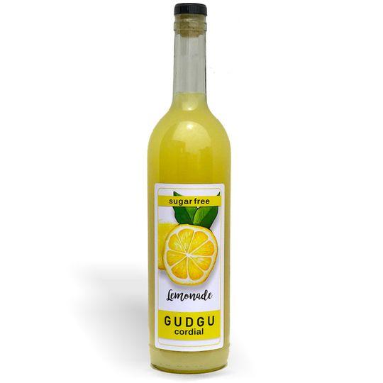 GUDGU SugarFREE Lemonade Cordial 750ml