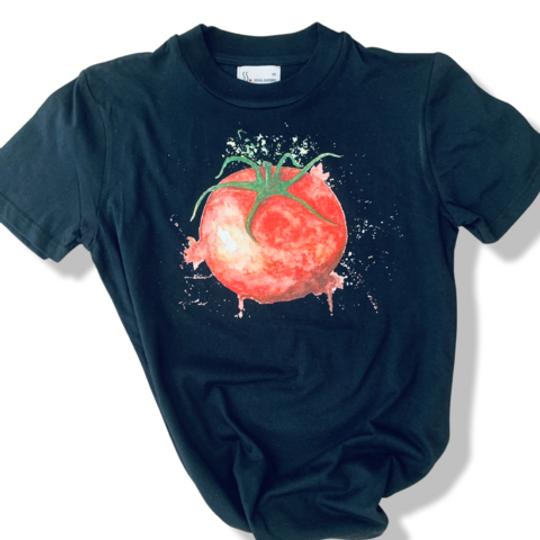 Tomato on Black