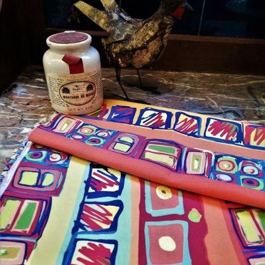 Blokkies: Table Cloth / Per Meter