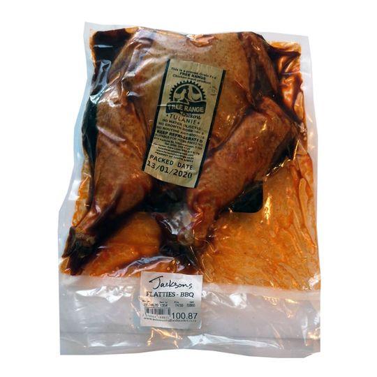 Chicken Flattie - BBQ  (+- 1.7kg)