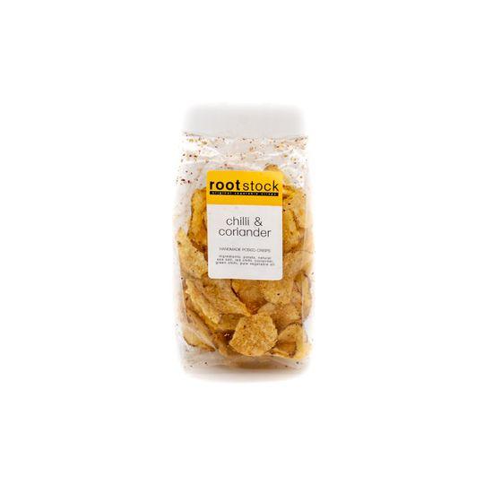 Chilli & Corriander Potatoe crisps ( 120g)