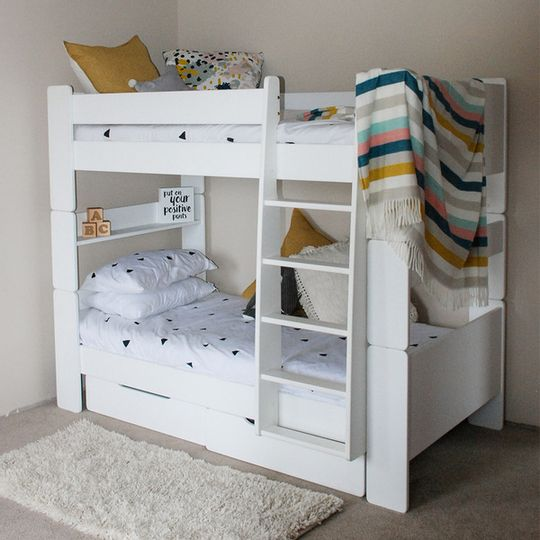Bunk Bed (Raised/Full Ladder)