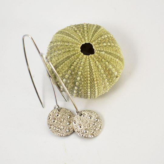 Sea Urchin Texture Earrings