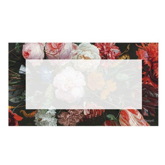 10 Little Letters - Vintage flower frame