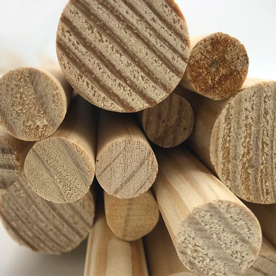 Wooden Dowels 16mm