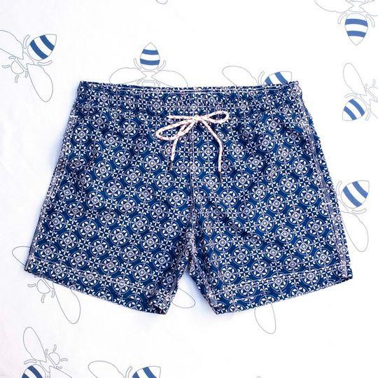Nautilus Navy Shorts