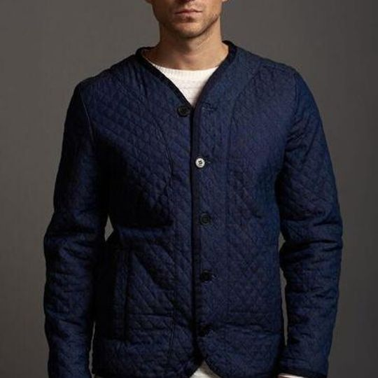 Denim Quilted Jackety