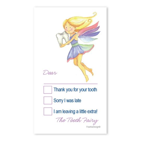 10 Little Letters - Tooth Fairy