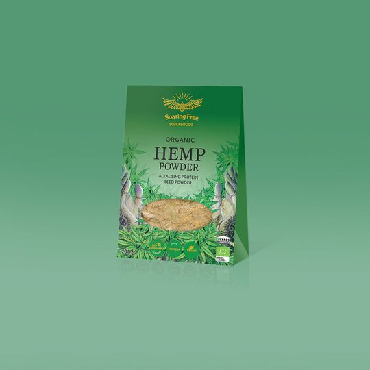 SOARING FREE SUPERFOODS Organic Hemp Protein Powder - 200g