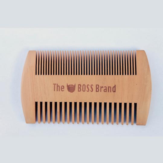 Branded Beard Comb
