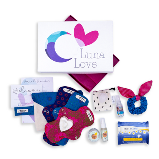 The New Moon First Period Gift Box