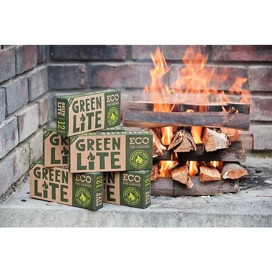 Green Lite Eco Fire Lighters 12