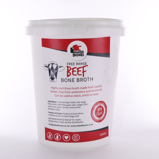 Beef Bone Broth (500ml)