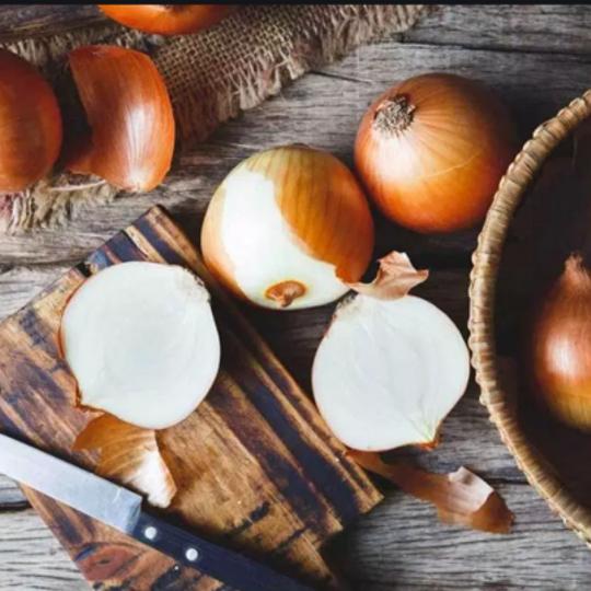 Organically grown Onions (+- 1 Kg)
