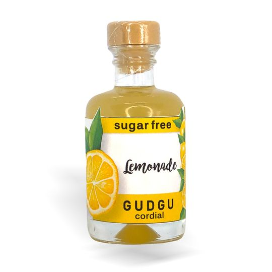 GUDGU SugarFREE Lemonade Mini Cordial 50ml