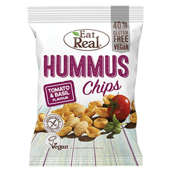 Eat Real Hummus Tomato & Basil 45g