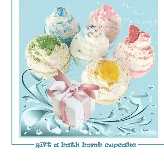 BATH SUNDAES AND CUPCAKE BOMBS, SOAP BOMBS & CUPCAKES