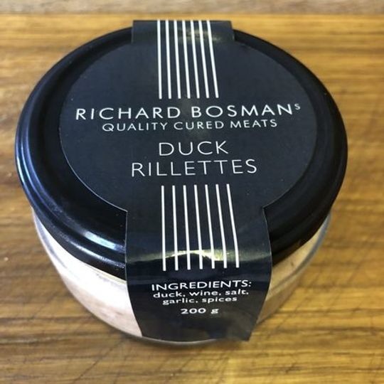 Duck Rillettes (shredded duck pate) 200ml