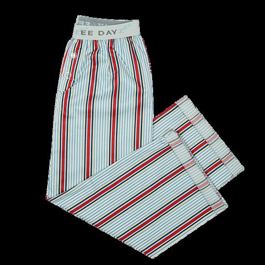 Boys Long Pants Red Stripe