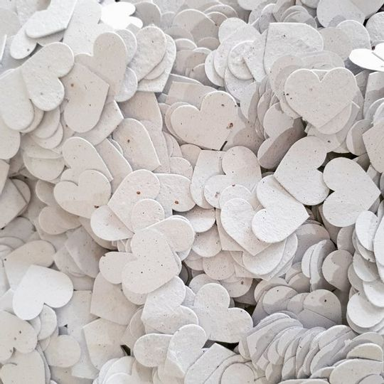 Growing Confetti | Heart Shaped