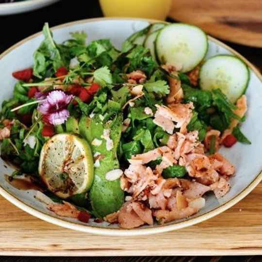 Smoked Salmon Trout Bowl
