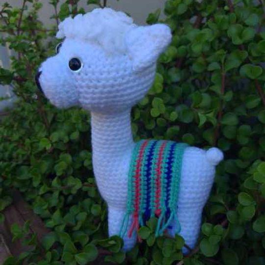 Annelise Rainbow Llama