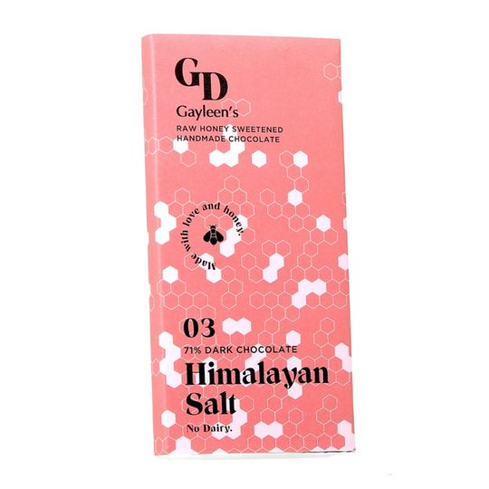 GD New Himalayan Salt chocolate slab