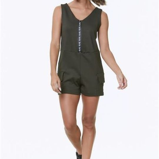 Comfy Jumpsuit Army Green