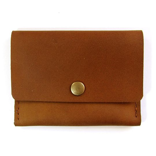 Card Holder - Africa Map - Brown