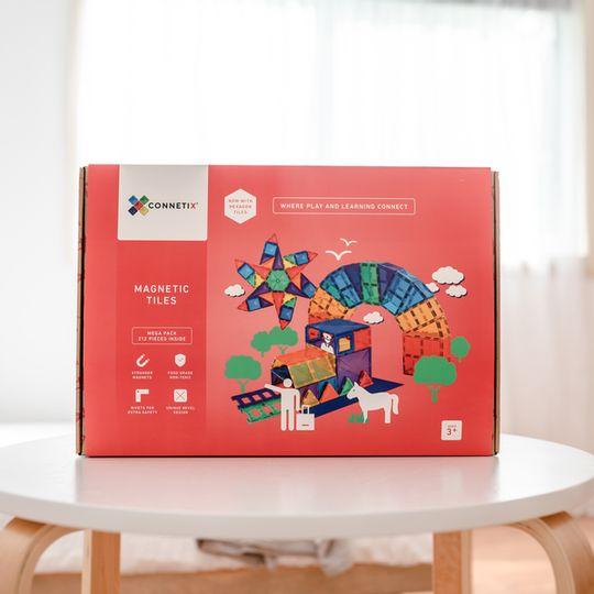 Connetix Tiles 212 piece Mega pack