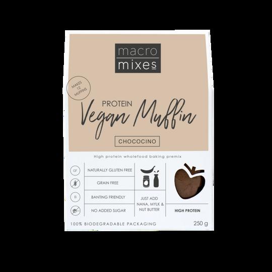 Macro Mixes Vegan Chococino Muffin (250g)