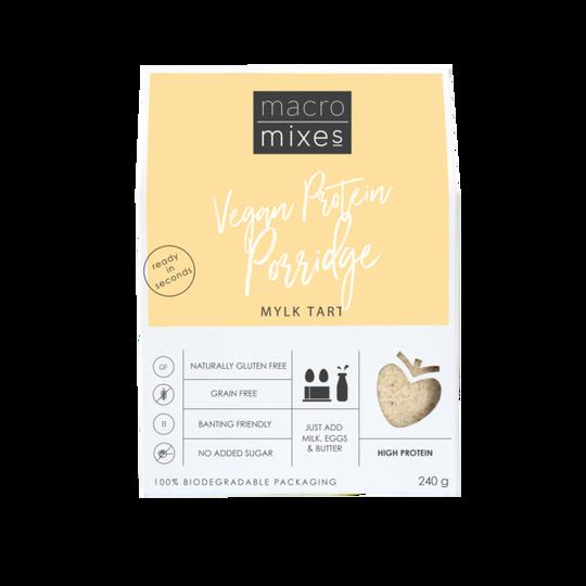 Macro Mixes Mylk Tart Vegan Protein Porridge (240G)