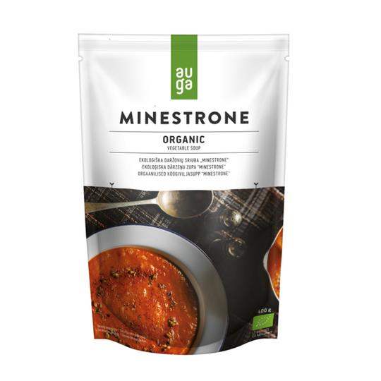 Auga organic minestrone soup 400g