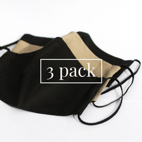 Masks with Pocket - 3 Pack