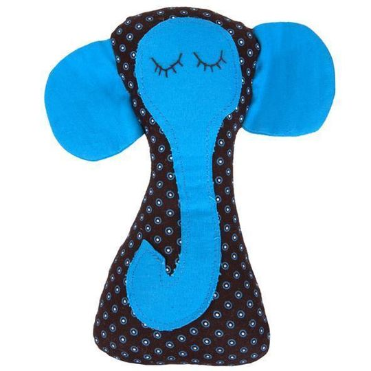 Rattle / Elephant Blue - M0346