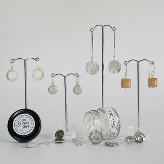 GEM JAR  Interchangeable Earring Hooks