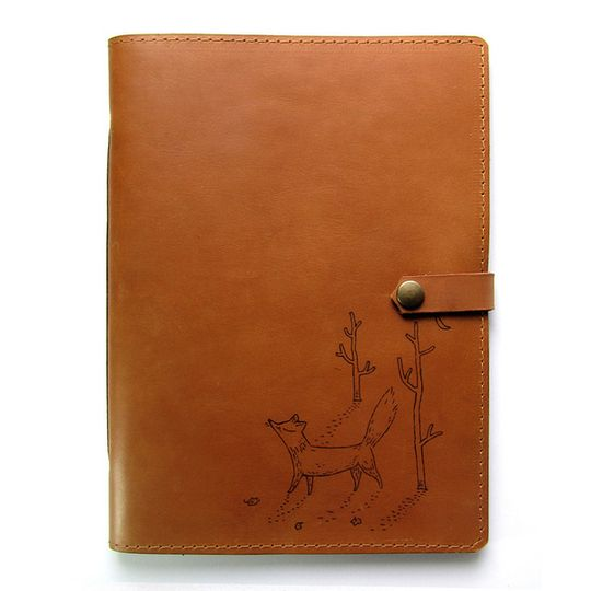 Journal (A5 size) - Fox in the Woods