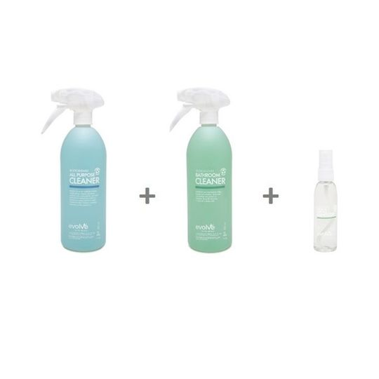 Evolve Cleaning Combo 1
